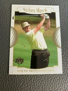 Colin Montgomerie 2001 Upper Deck #167 Victory March Golf Card