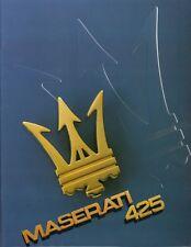 Maserati 425 Prospekt, 1984