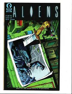 aliens genocide #2 comic dark horse NM+