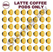 48x NESCAFE DOLCE GUSTO LATTE MACCHIATO COFFEE ONLY PODS (NO MILK CAPSULES)