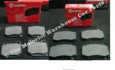 FOR NISSAN 350Z BREMBO DISC BRAKE PADS FRONT REAR