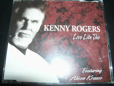 Kenny Rogers With Alison Krauss Love Like This CD Single