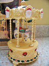 Hallmark 1994 Tobin Fraley Holiday Carousel Light Music Christmas Ornament