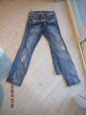 LOT OF TWO PAIRS OF LADIES EXPRESS JEANS SIZE 8 GENTLY USED - NO RESERVE