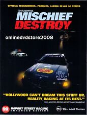MISCHIEF DESTROY - DRIFT Fast & FURIOUS Import Street RACING DVD (NEW SEALED)