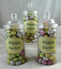 Milk Chocolate Easter Mini Eggs, 400 grams in Victorian Jar