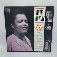 "Billie Holiday ""The Golden Years"" Jazz 3xLP Box Set w Book Columbia C3L 21 VG+"