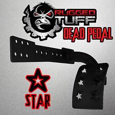 RUGGED TUFF DEAD PEDAL STAR JK JEEP WRANGLER UNLIMITED LEFT KICK PANEL FOOT REST