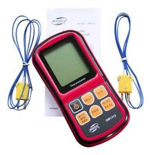 Benetech GM1312 Digital Thermometer Type J,K,T,E,N,R Complete with 2 x K sensors