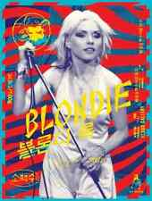 Blondie Debbie Harry Limited edition print Concert poster Kii Arens 24x32 Mint