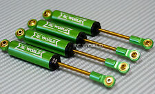 RC 1/10 TRUCK Suspension 110MM Internal SHOCK ABSORBER Aluminum GREEN <SET OF 4