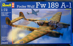 Revell Fw 189 A-1 1/72 scale