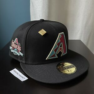 New Era Capsule Vegas Gold Arizona Diamondbacks sz 7 1/8 Not Hat Club Myfitteds
