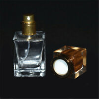30ml Empty Classic Glass Perfume Bottle Spray Clear Rectangle Atomizer for Lady