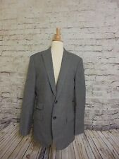J CREW LUDLOW SUIT JACKET WINDOWPANE ITALIAN WOOL -COTTON 40R #07170 BLAZER