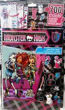 700x Monster High Sticker + Stickeralbum Aufkleber, Album, Frankie, Clawdeen neu