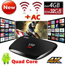 US V99 Hero Octa Core TV BOX 4GB+32GB Android WiFi Bluetooth 4K HD Media Player