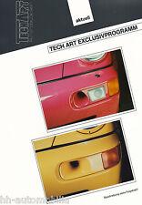 Bild-Prospekt Porsche 911 Frontspoiler TechArt Exclusivprogramm 1994 int Nr 8a