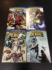 MARVEL #1 - 4 AGE OF HEROES AVENGERS Comic Books FULL SERIES REMENDER SAMNEE