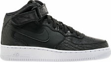 Nike Air Force 1 Mid '07 LV8 Mens Shoes Croc Black/Black-White 804609 003 SZ 10