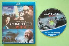 BLU-RAY Film Ita Avventura CONFUCIO chow yun-fat ex nolo no dvd vhs lp cd (DV7)