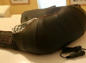 New, Electric Shiatsu Kneading Neck Shoulder Body Massager With Heated Function