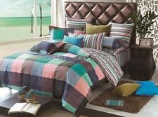 EVERTON Double Size Bed Duvet/Doona/Quilt Cover Set New 100% Cotton
