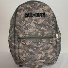 Call of Duty Digital Camouflage Backpack Shoulder Bag 2 Zipper Desert Tan OD