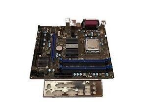 MSI G41M-P43 Combo DDR3/DDR2 (MS-7592 Ver: 7.1) Socket 775 Intel Motherboard