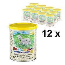 Bambinchen 1 - Babynahrung bis 6 Mon. 12x400g