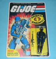 *RECARDED* 1983 GI Joe Cobra Soldier v1.5 Complete Sealed *CUSTOM File Card Back