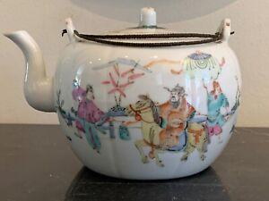 Superb Antique Chinese Porcelain Teapot