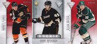 13-14 Titanium Sami Vatanen /299 Rookie Retail Ducks 2013