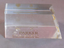 Parker Vintage Duofold Acrylic Display--1990's