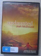 UNDAUNTED THE EARLY LIFE OF JOSH MCDOWELL DVD - Christian Faith True Story Movie