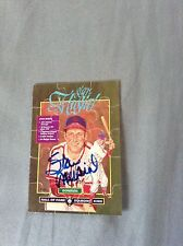 Stan Musial HOF VINTAGE HAND SIGNED 1987 Don Puzzle Piece w/COA EXTREMELY RARE