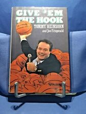 Give Em The Hook by Tommy Heinsohn & Joe Fitzgerald 1988 1st Edition Celtics