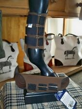 NWT TOKLAT ORIGINALS NEOPRENE Horse Splint Boots BROWN Sz LARGE