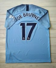 71b2c8863f4 De Bruyne Manchester City jersey large 2019 shirt home 894431-489 soccer  Nike