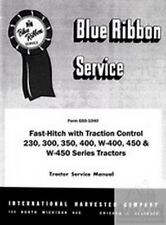 Farmall Fast Hitch w Traction Control Service Manual