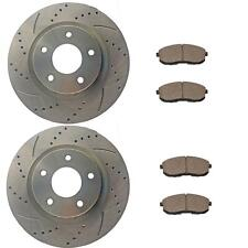 Front Brake Rotors and Ceramic Pads For Nissan Altima 2007-2009 2010-2013