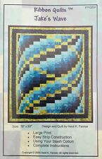 "Quilt Pattern Ribbon Quilts ""Jake's Wave"" by Heidi Farmer"