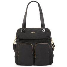 Kipling Women's Camryn Laptop Handbag, Black Patent Combo, NWT, HB6747-959