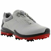 Ecco Golf 2019 BIOM G3 BOA Gore-Tex Waterproof Leather Mens Spiked Golf Shoes