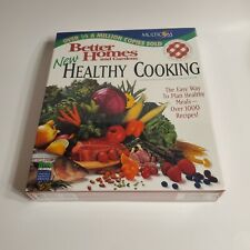 Better Homes and Gardens New Healthy Cooking 1000+ recipes. Multicom