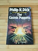 The Cosmic Puppets Philip K. Dick 1985 UK 1/1 PBO Panther (1st solo appearance)