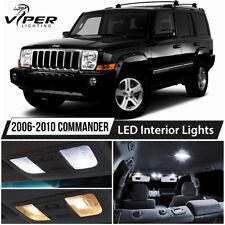 2006-2010 jeep commander white led lights interior package kit