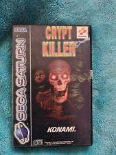 Crypt Killer -Sega Saturn Spiel - Ovp - Konami - Anleitung - FSK 18 - 26119