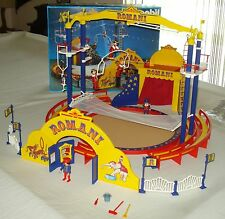 Vintage Playmobil Large Victorian Romani Circus Set #3720 Complete in Box