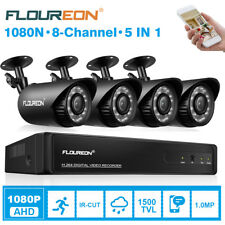 CCTV 8 Channel 1080N HD HDMI DVR +4X Outdoor Bullet IP Camera Security System